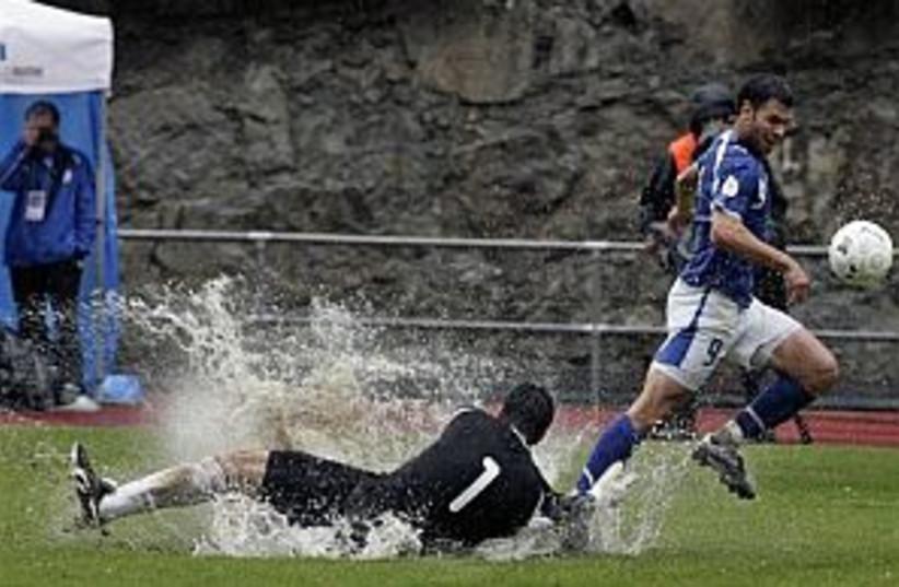 national team soccer, we (photo credit: AP)