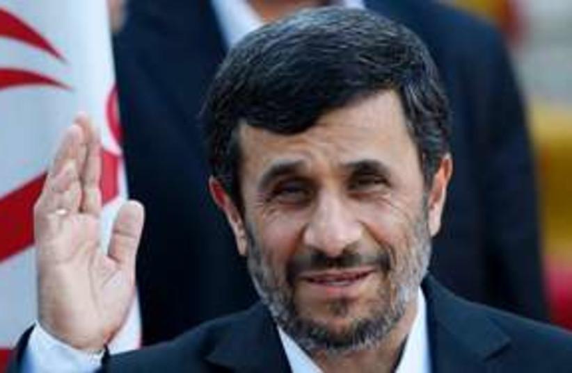 Iranian President Mahmoud Ahmadinejad (photo credit: AP)
