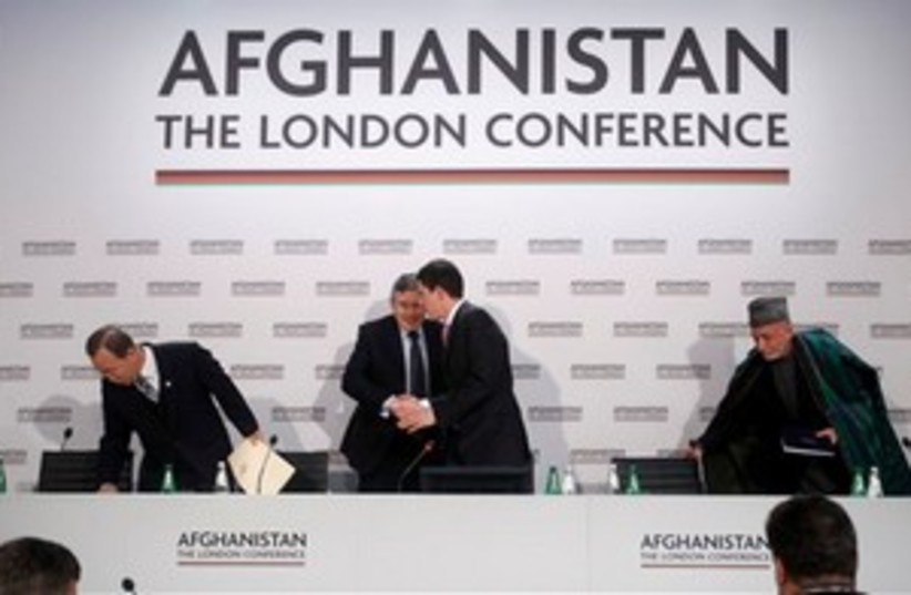 Afghanistan London Conference (photo credit: AP)