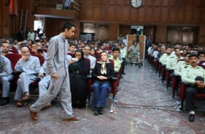 Iranian opposition (photo credit: AP)