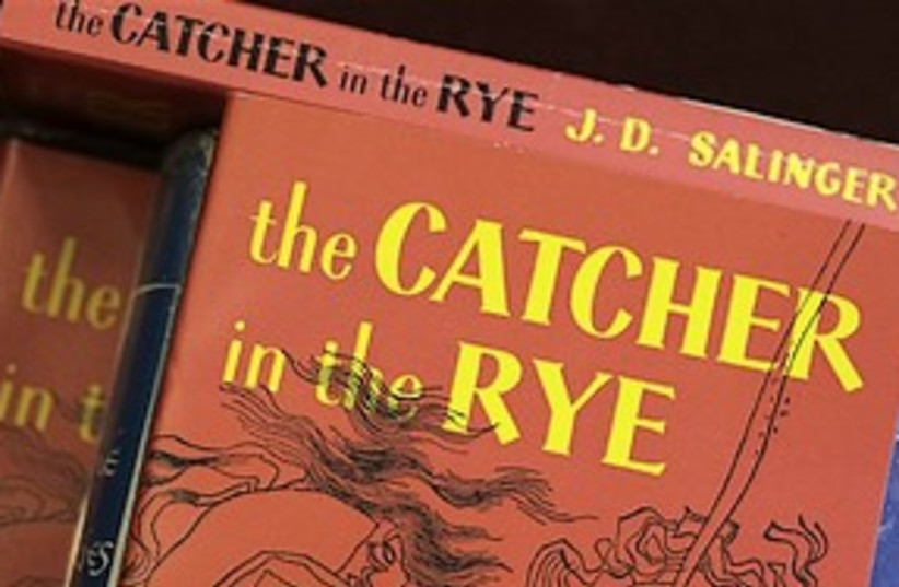 catcher in the rye 311 (photo credit: AP)