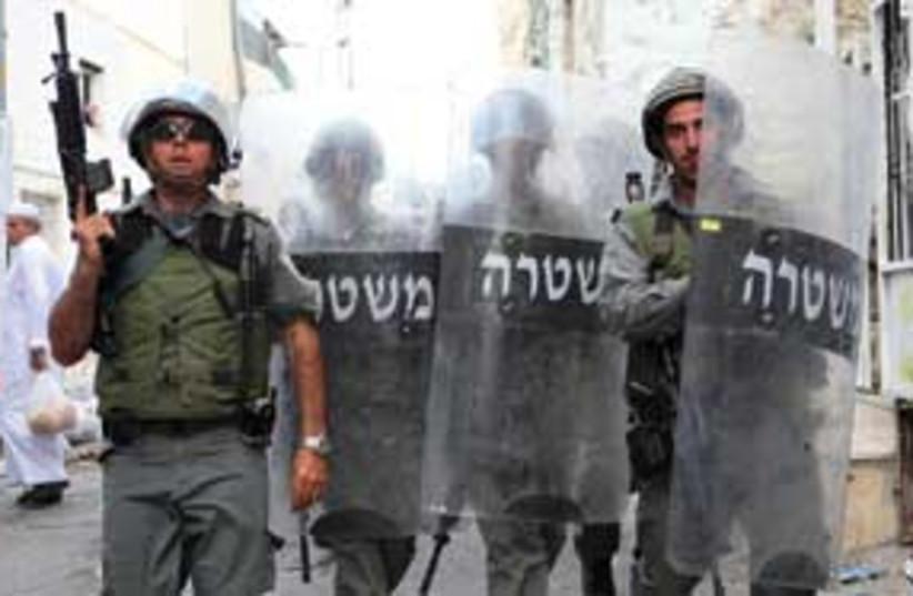 police 311 (photo credit: Ariel Jerozolimski)