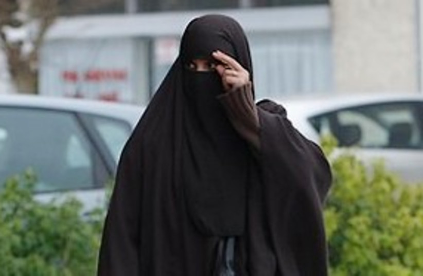 burqa 311 (photo credit: Associated Press)