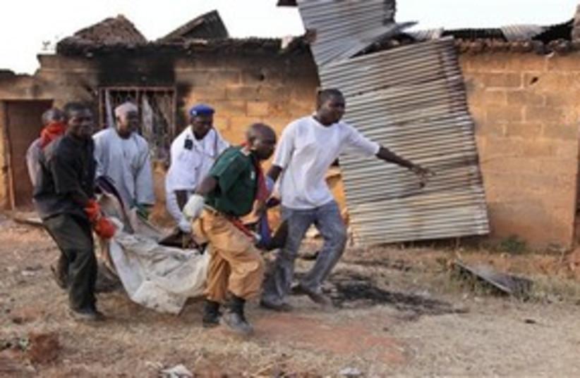 Nigerian Violence (photo credit: AP)