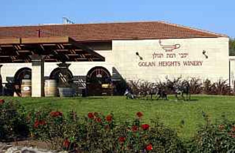 golan hieghts winery  (photo credit: Ariel Jerozolimski )