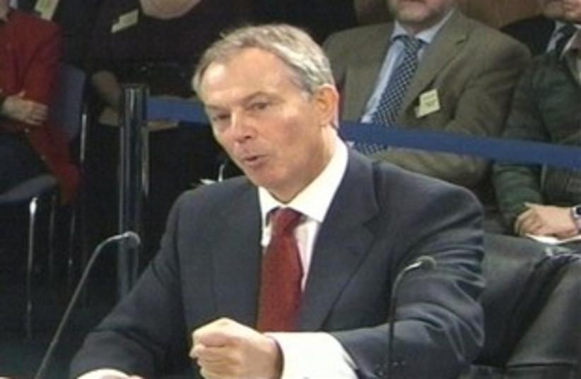 Tony Blair (photo credit: AP)