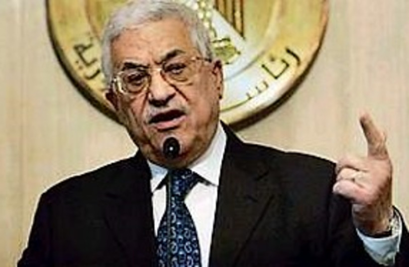 PA President Mahmoud Abbas (photo credit: AP)