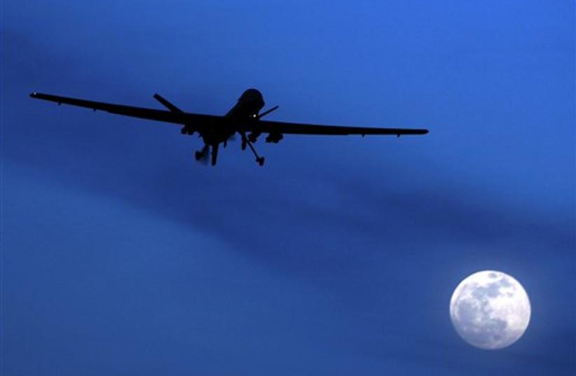 Predator drone (photo credit: AP)