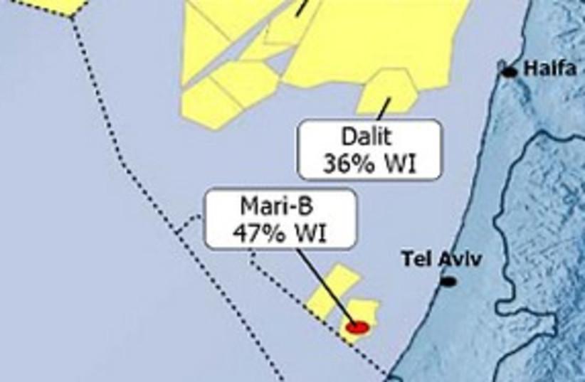 Bontan gas map (photo credit: Courtesy: Bontan Oil and Gas)