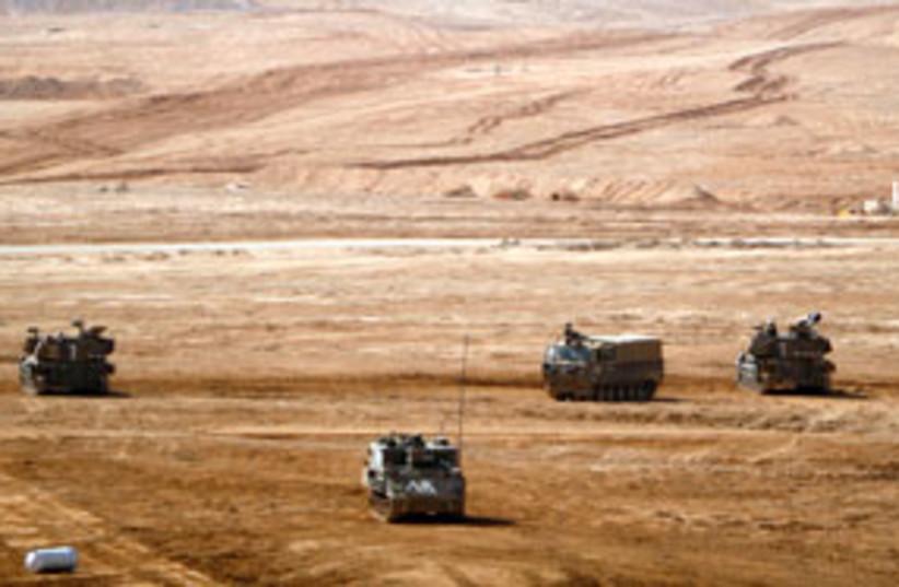 army vehicle 311 (photo credit: AP [illustrative])