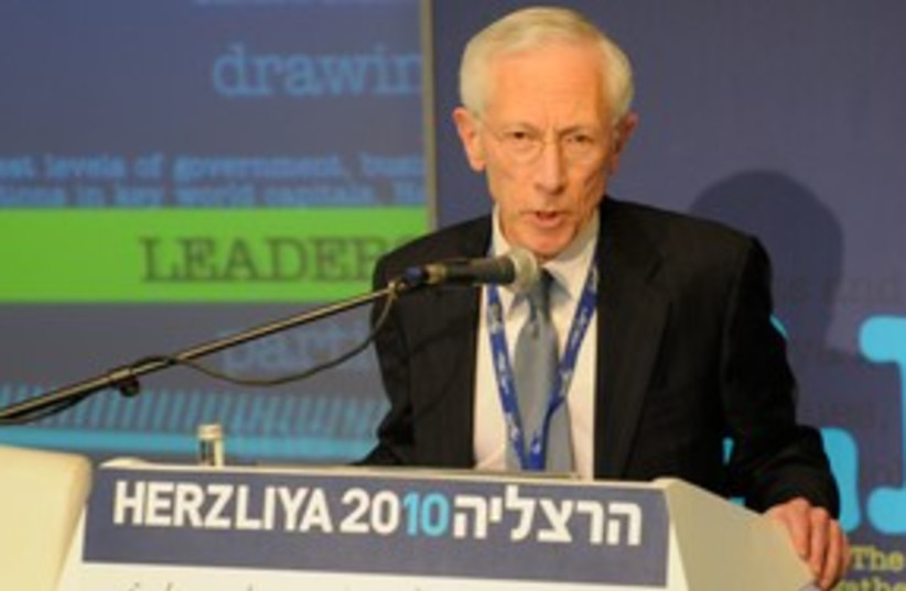 stanley fischer (photo credit: Louise Green)