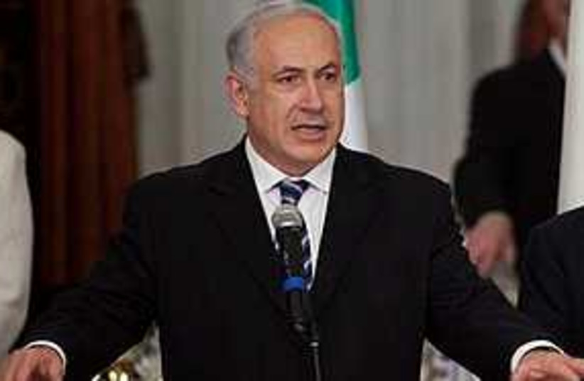 Netanyahu reassures (photo credit: ASSOCIATED PRESS)
