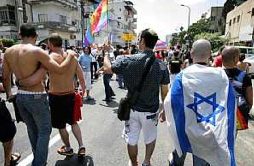 gay pride tel aviv (photo credit: AP)