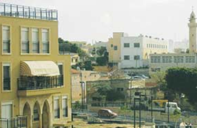 ajami neighborhood 311 (photo credit: Ben Hartman)