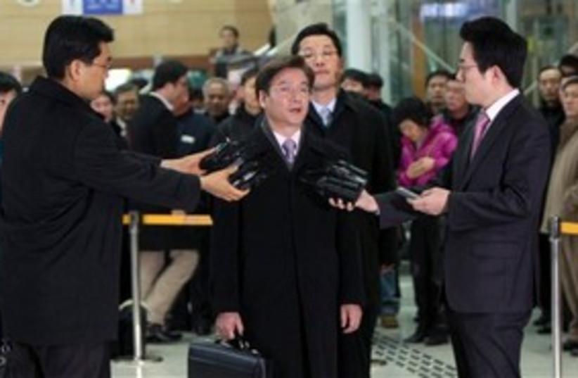 south korean diplomat (photo credit: Associated Press)