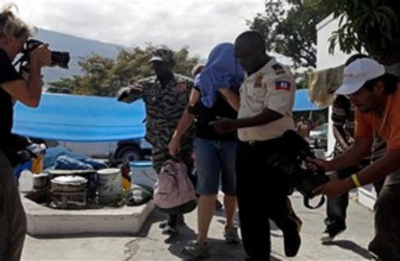 Haiti US Missionaries (photo credit: Associated Press)