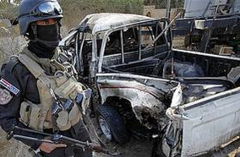 Iraq bomb Karbala 311 ap (photo credit: Associated Press)