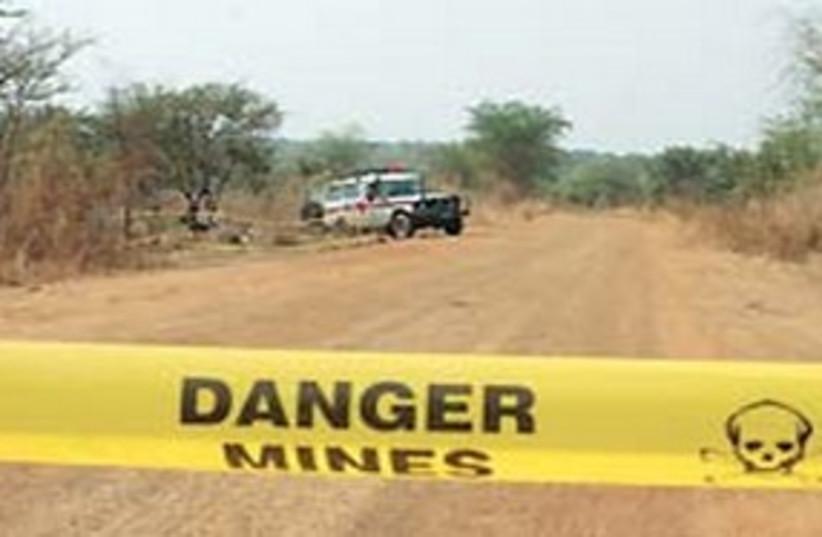 minefield sign (photo credit: courtesy)