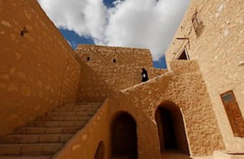 egypt monestary 311 ap (photo credit: AP)