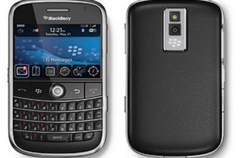 blackberry 311 courtesy mobile (photo credit: Courtesy)