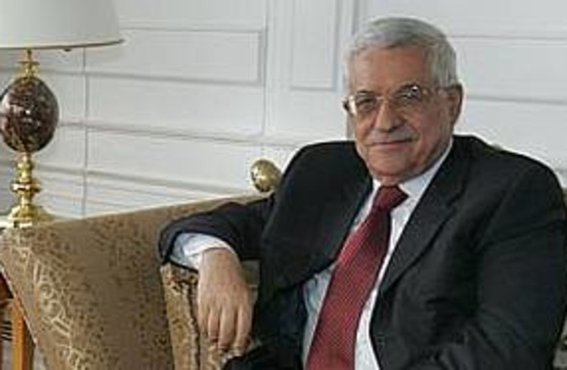 Mahmoud abbas 311 187 (photo credit: AP)