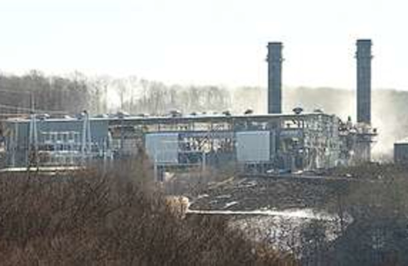 Middletown power station  (photo credit: Associated Press)