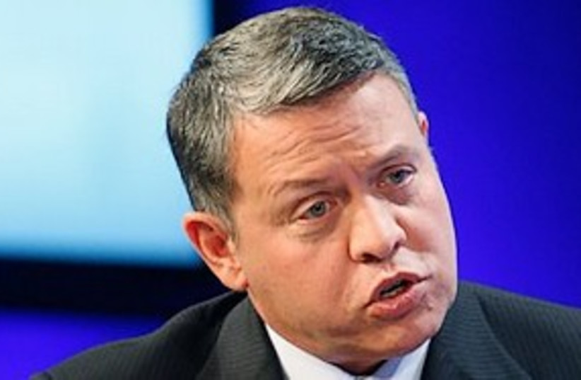 Jordan King Abdullah 311 (photo credit: AP)