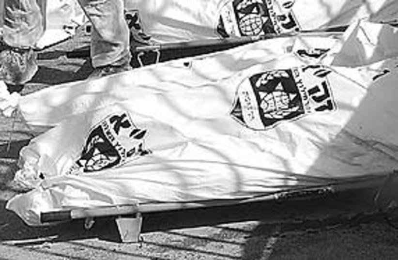 bodybag 311 (photo credit: Ariel Jerozolimski (file))