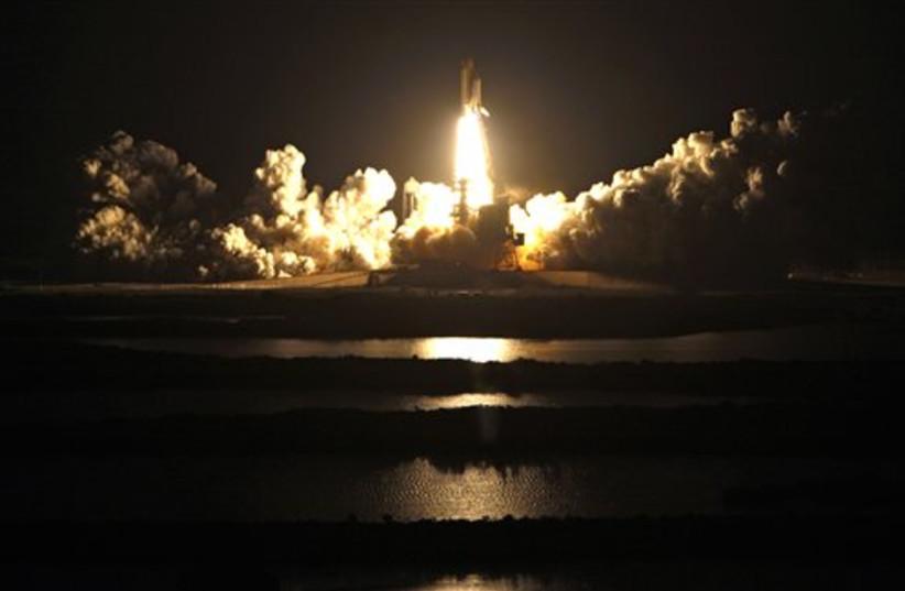 Space Shuttle Endeavor (photo credit: AP)