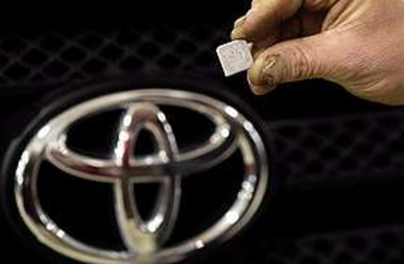 Toyota Corolla  (photo credit: Associated Press)