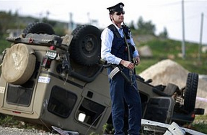 Tapuah attack 311 (photo credit: AP)