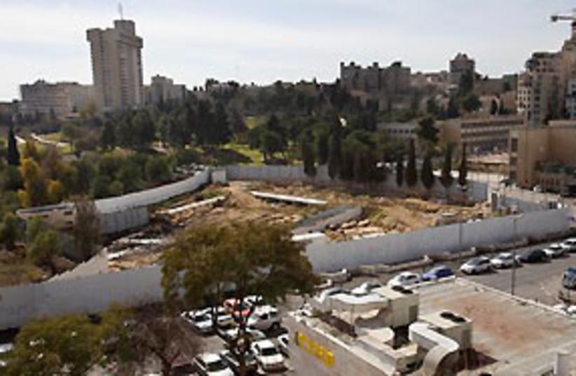 Tolerance Museum site Jerusalem 311 (photo credit: AP)