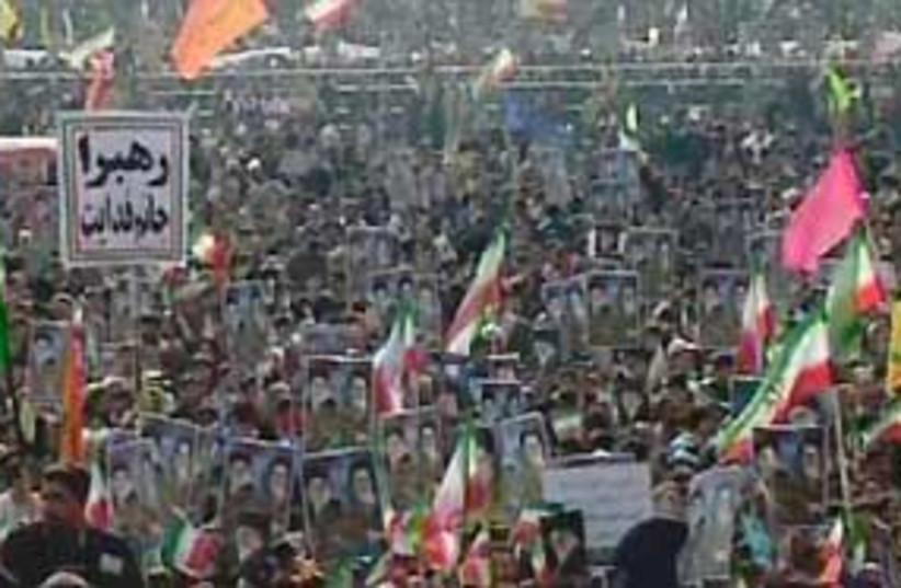 iran revolution rally 311 (photo credit: AP)