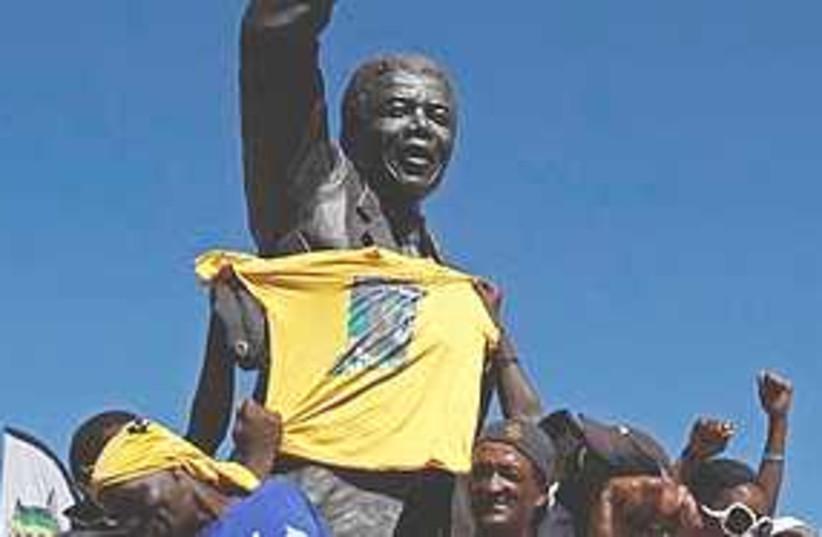 Mandela celebrations  311 (photo credit: Associated Press)