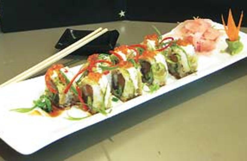 sushi 311 (photo credit: E. Wanetik)