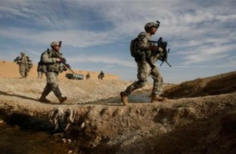 US Marines Afghanistan (photo credit: Associated Press)