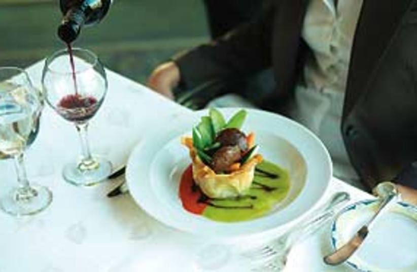 food and wine restaurant 311 (photo credit: Courtesy)