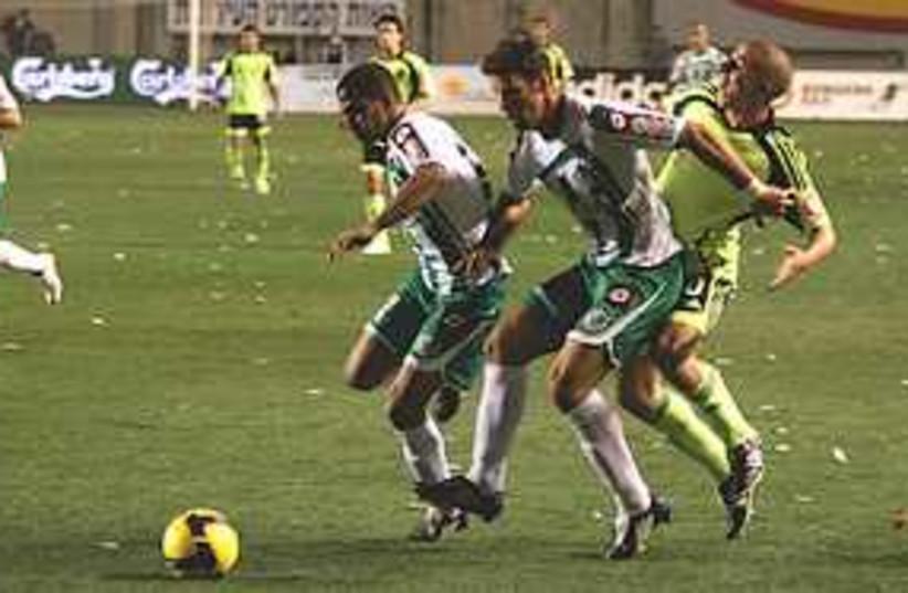 maccabi haifa soccer 311 (photo credit: Roi Levy)