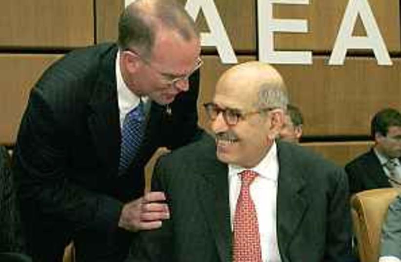 ElBaradei IAEA 298.88 (photo credit: AP)