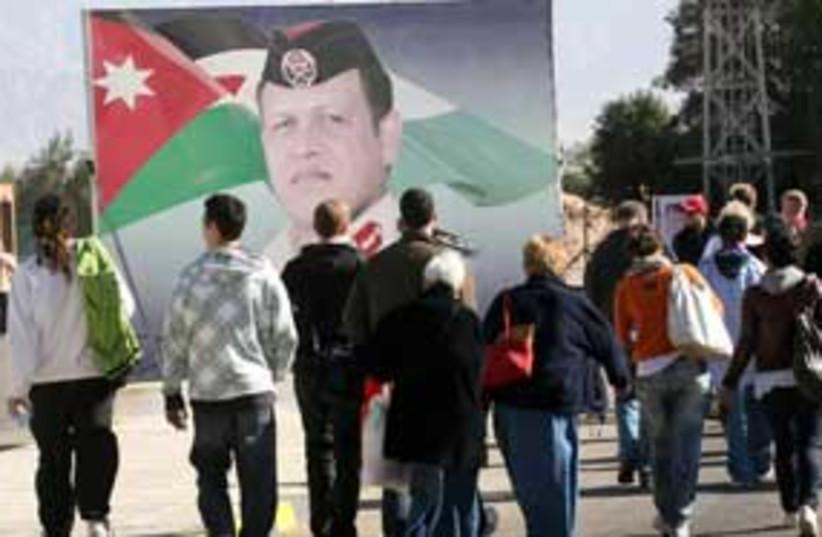Israeli tourists Jordan 311 (photo credit: Ariel Jerozolimski )