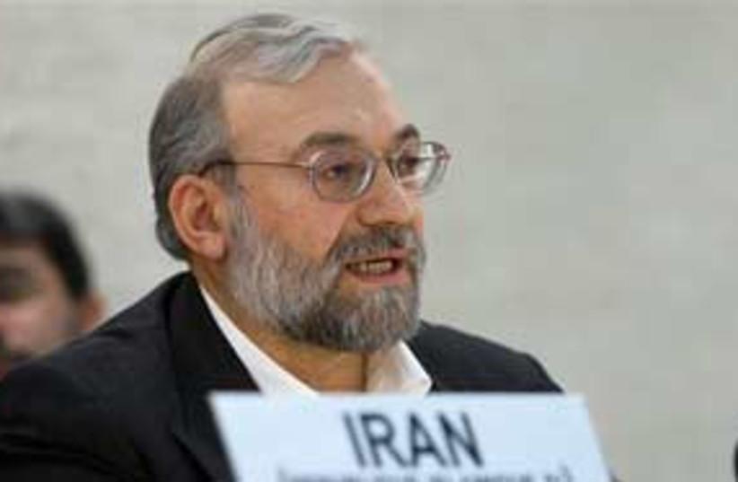 Mohammad Javad Larijani 311 (photo credit: AP)
