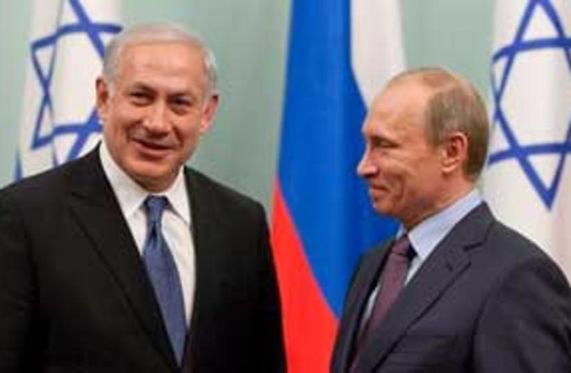 Putin Netanyahu 311 (photo credit: Associated Press)