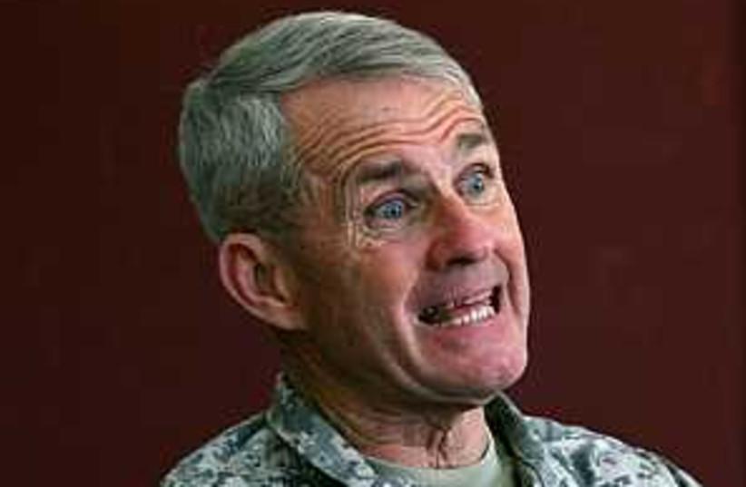 Gen Dan McNeill 298 88 (photo credit: AP)