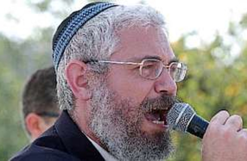 Rabbi Mordechai Elon 311 (photo credit: Ariel Jerozolimski )