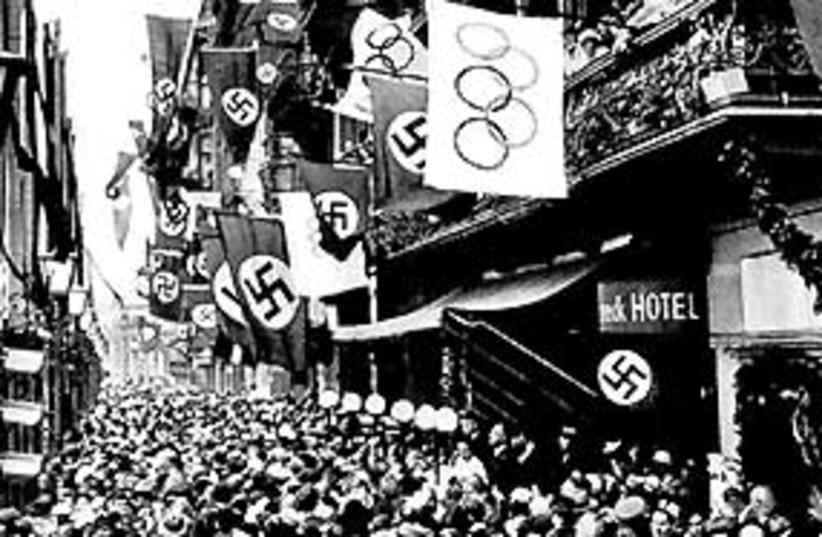 nazi olympics 311 (photo credit: Carl and Liselott Diem Archive)