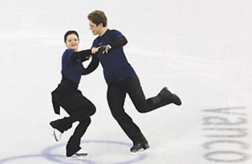 zaretsky ice skating 311 (photo credit: AP)
