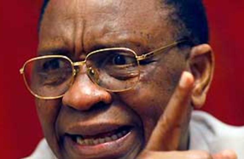 tandja 311 niger president (photo credit: AP)