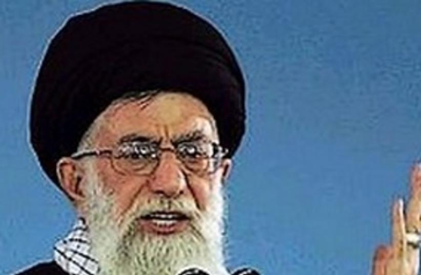 ayatollah Ali Khamenei (photo credit: Associated Press)