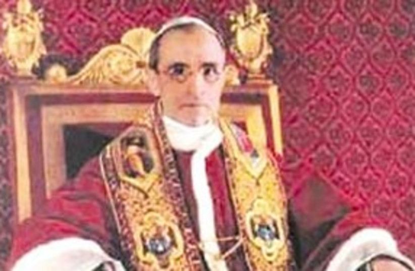 Pope Pius XII 311 courtesy (photo credit: Courtesy)