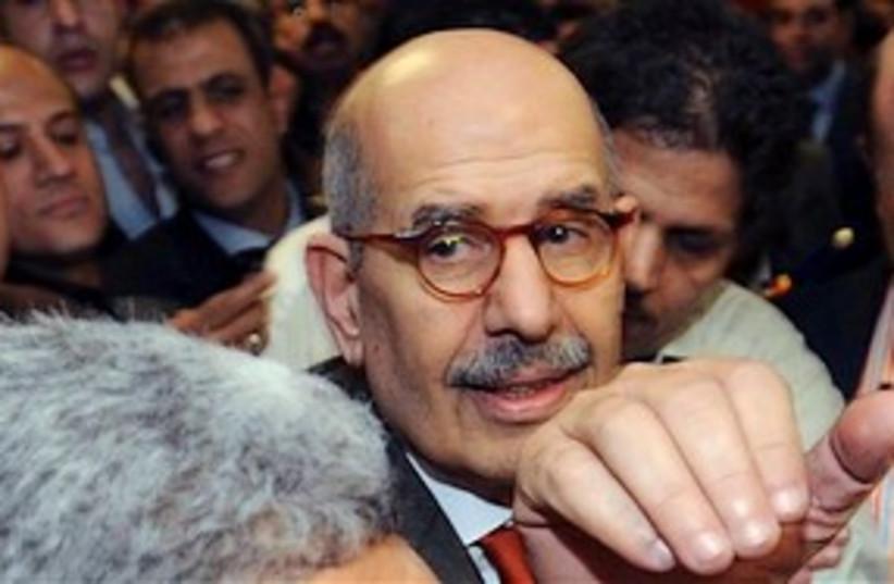 ElBaradei Cairo 311 (photo credit: Associated Press)
